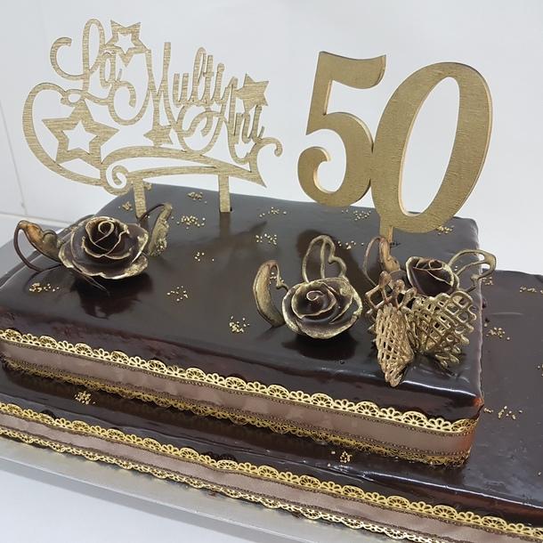 Tort aniversar 50 ani